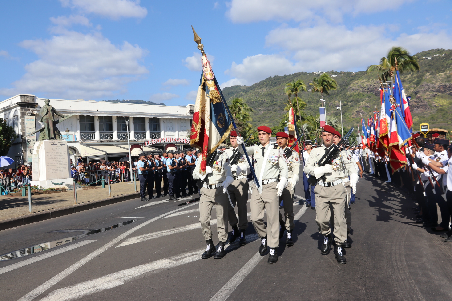 Défilé du 14 juillet 2019 au Barachois: toutes les photos