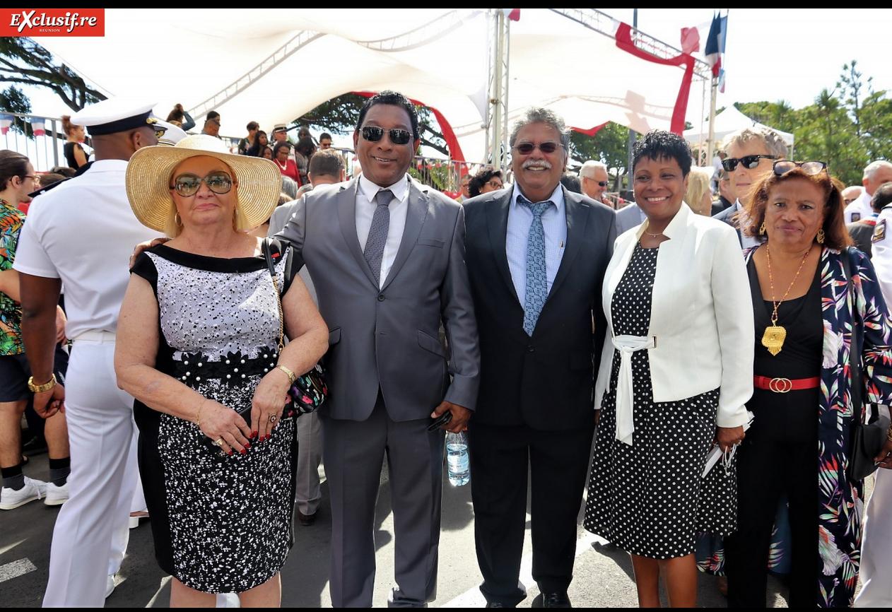 Le 14 juillet à La Réunion ne serait pas le 14 juillet sans madame Aude et son chapeau!