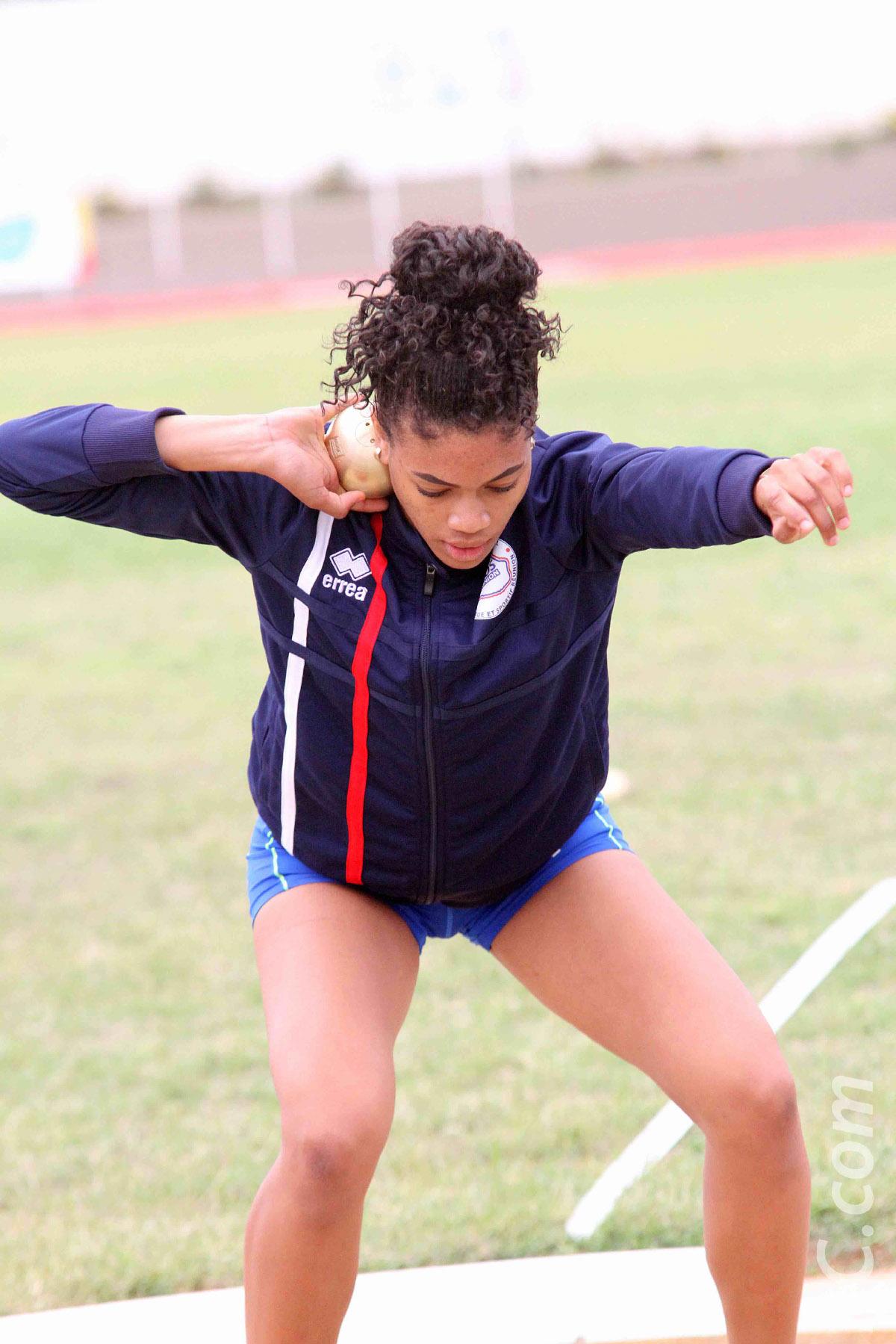 Kooreia Djelti, 2ème de l'heptathlon avant la dernière journée