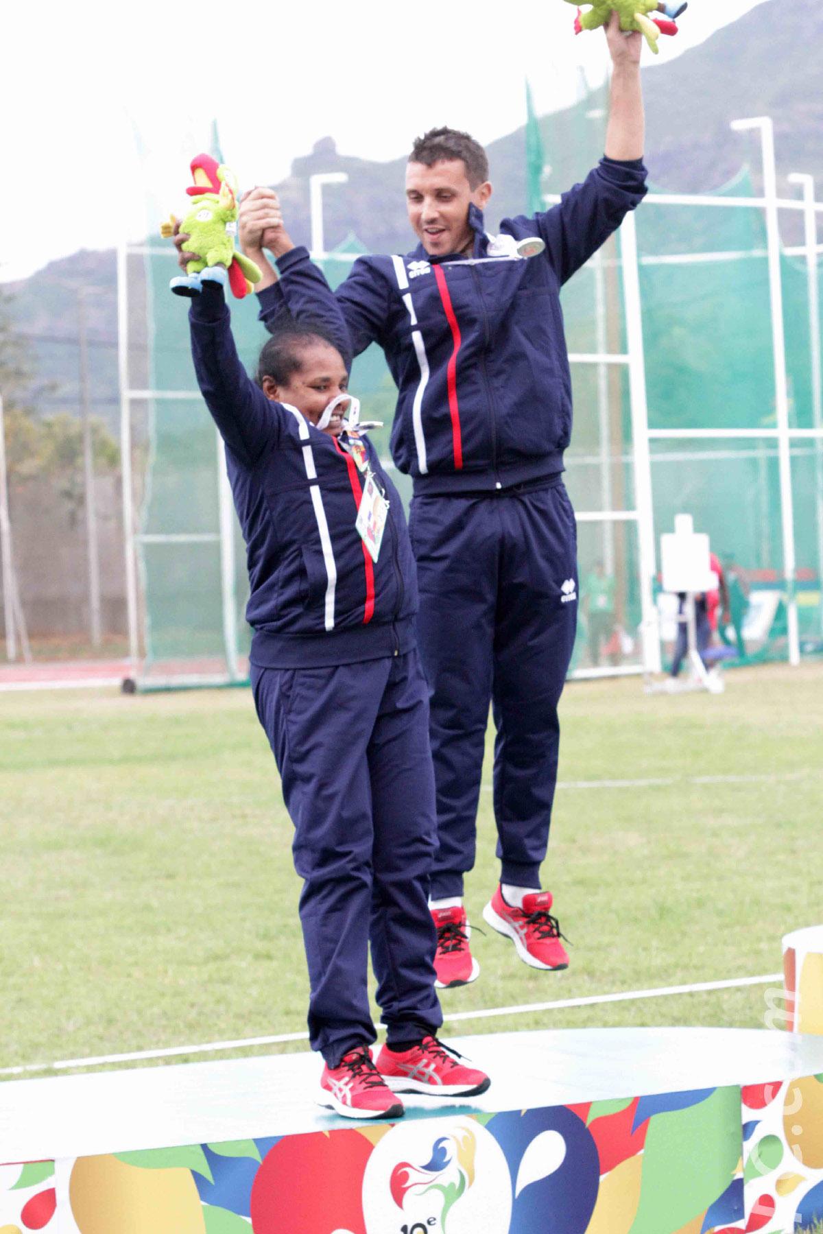 Jeux des Iles: Maurice mène le bal