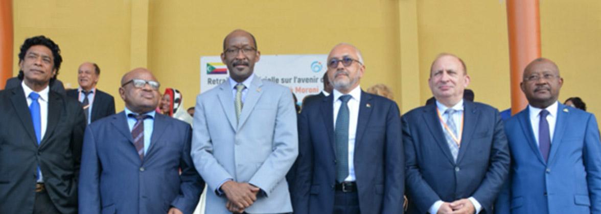 Les Ministres de la zone et l'ambassadeur français réunis à Moroni