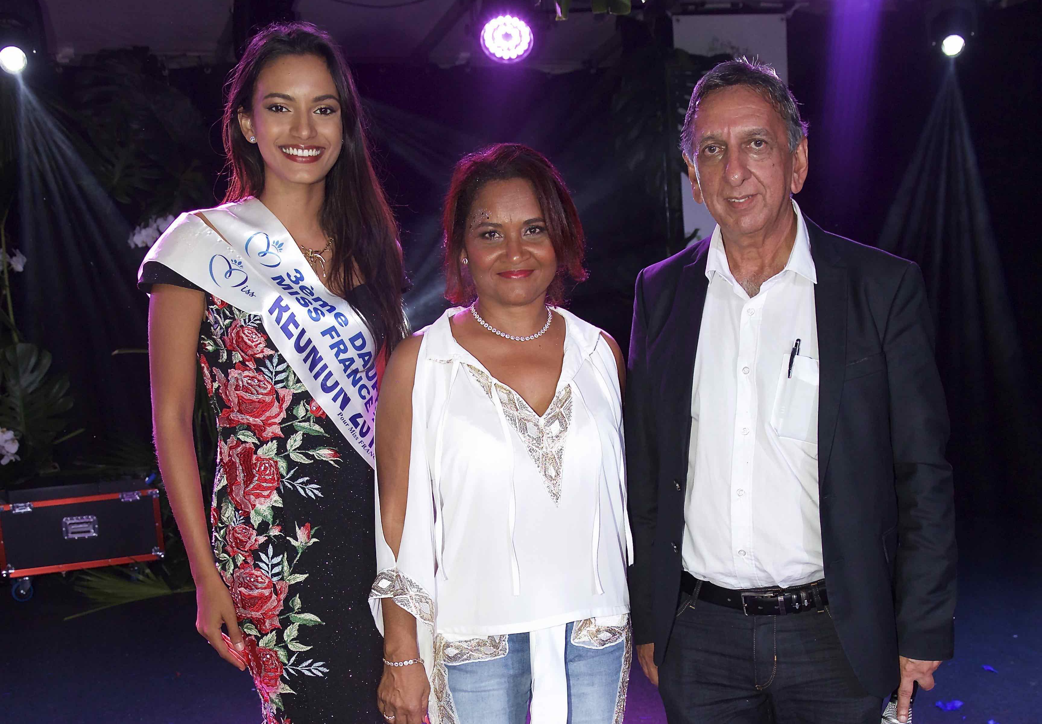 Morgane Soucramanien, Michèle Payet et Aziz Patel