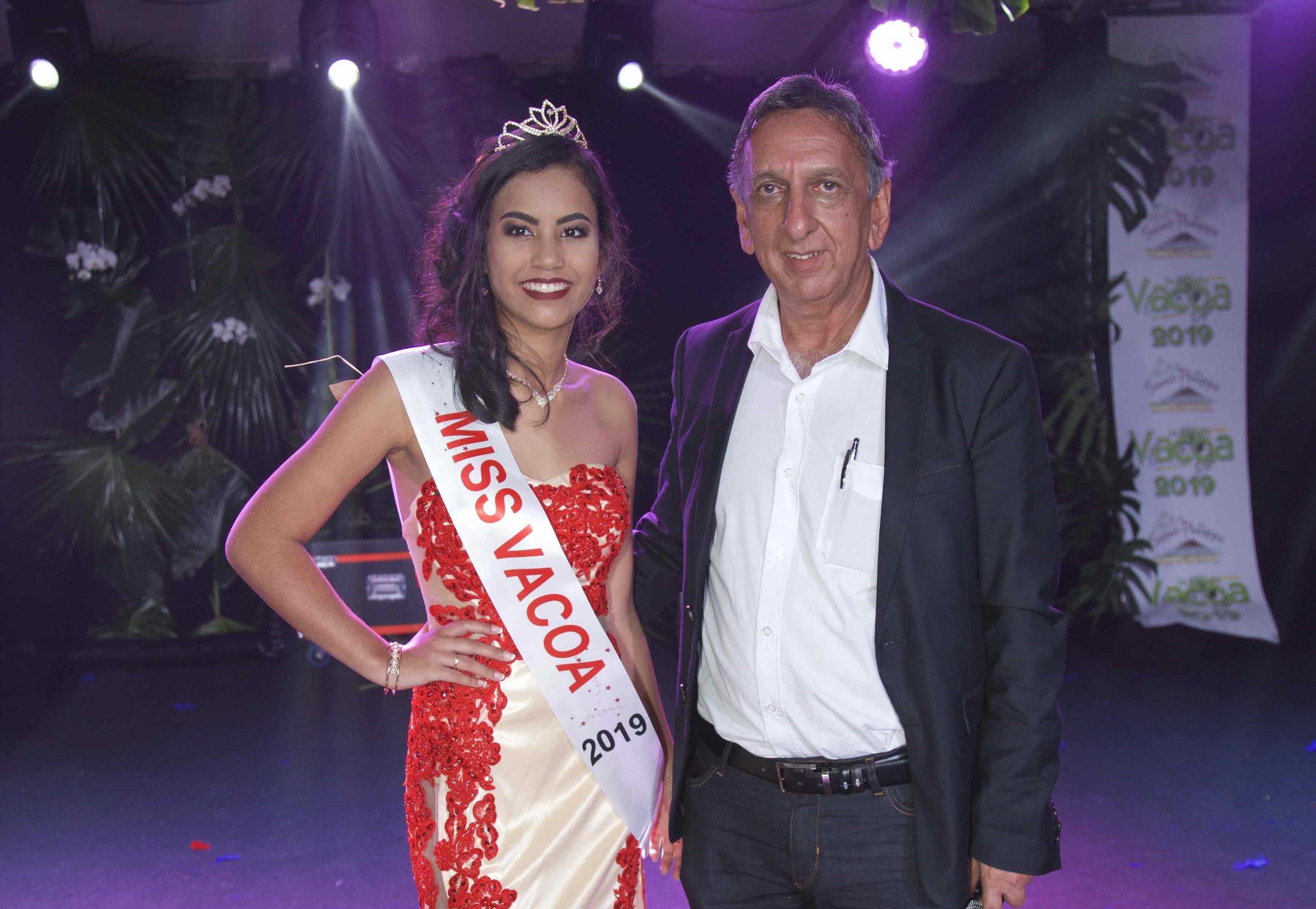 Miss Vacoa et Aziz Patel
