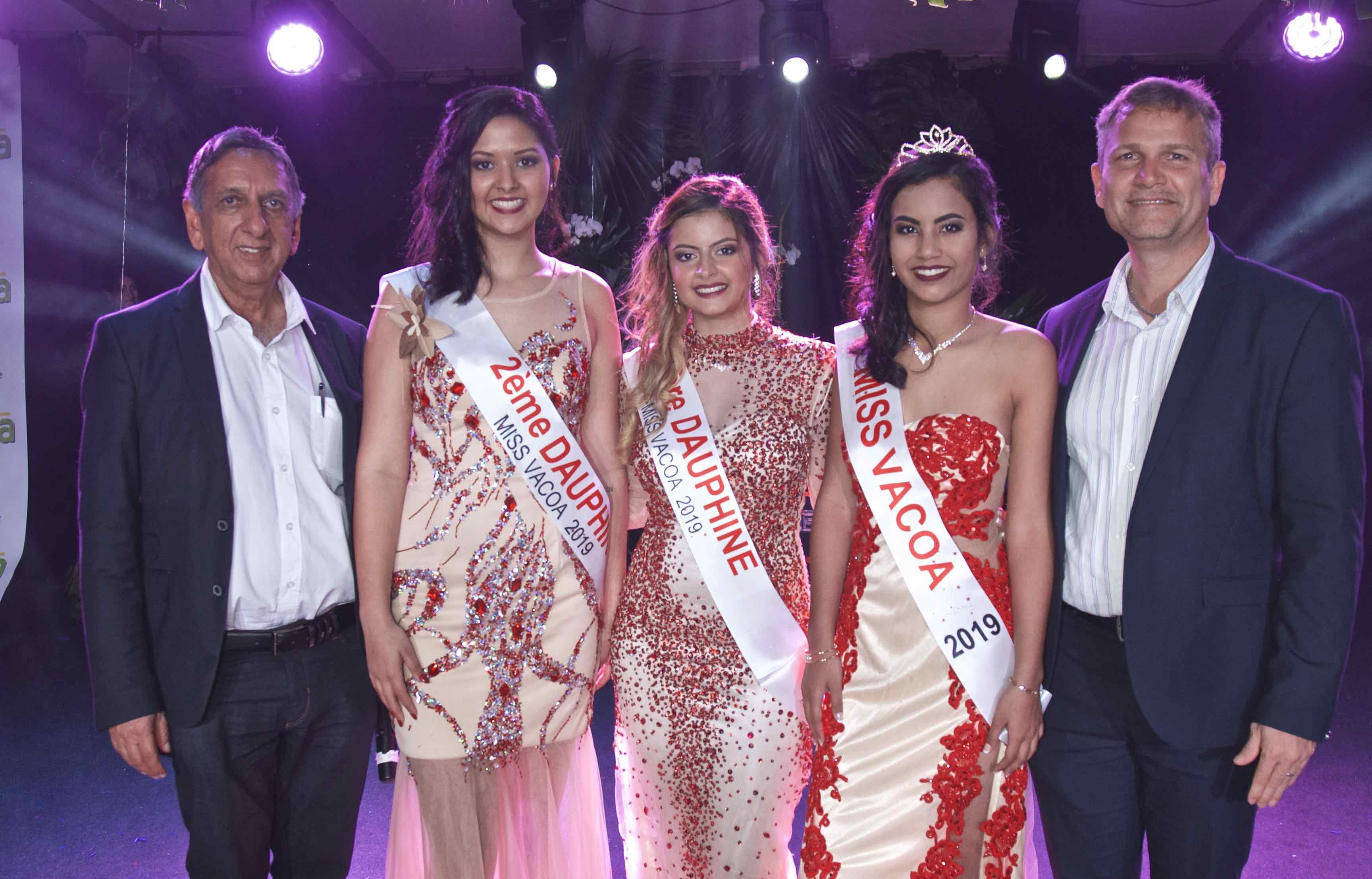 Frideline Mouniama élue Miss Vacoa 2019