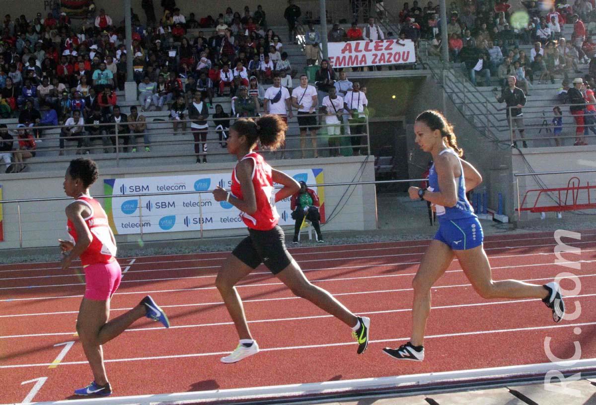 Emma Métro sur le 1500 mètres