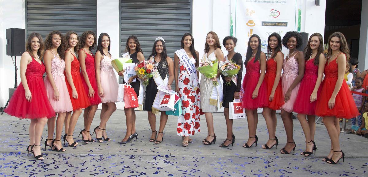 Avec 10 candidates Miss Réunion 2019