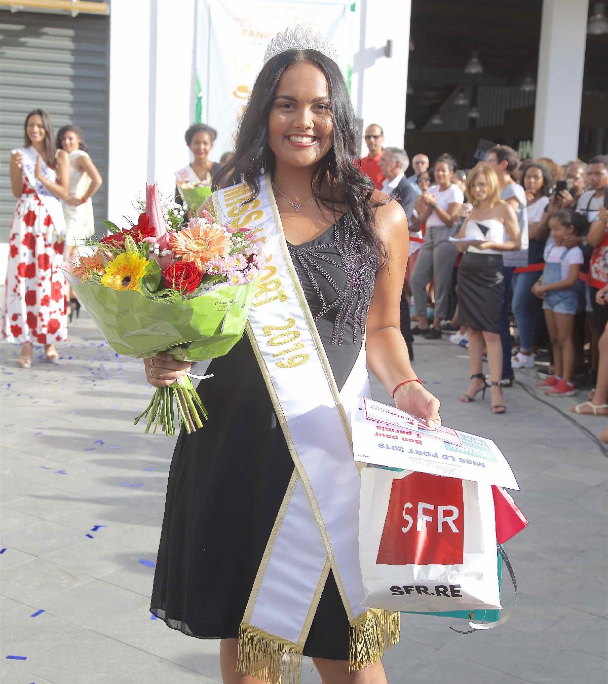 Audrey Beaudet, Miss Le Port 2019