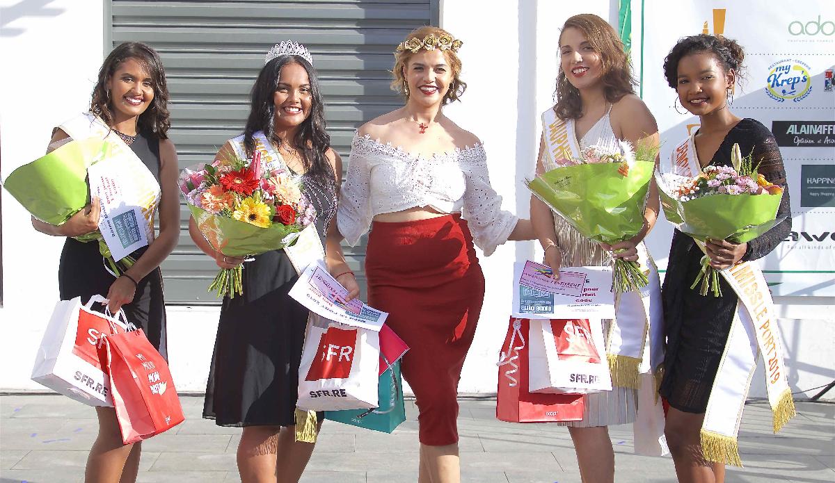 Avec Julie Marguerite, Miss Flore et Halle 2018
