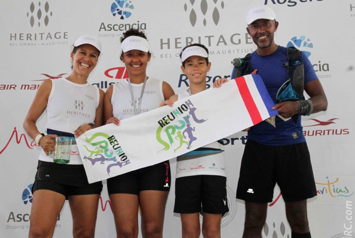 Bertrand, Fatima, Ceylia et Dayan: la famille Hibon sur la course avec 3 podiums à la clé