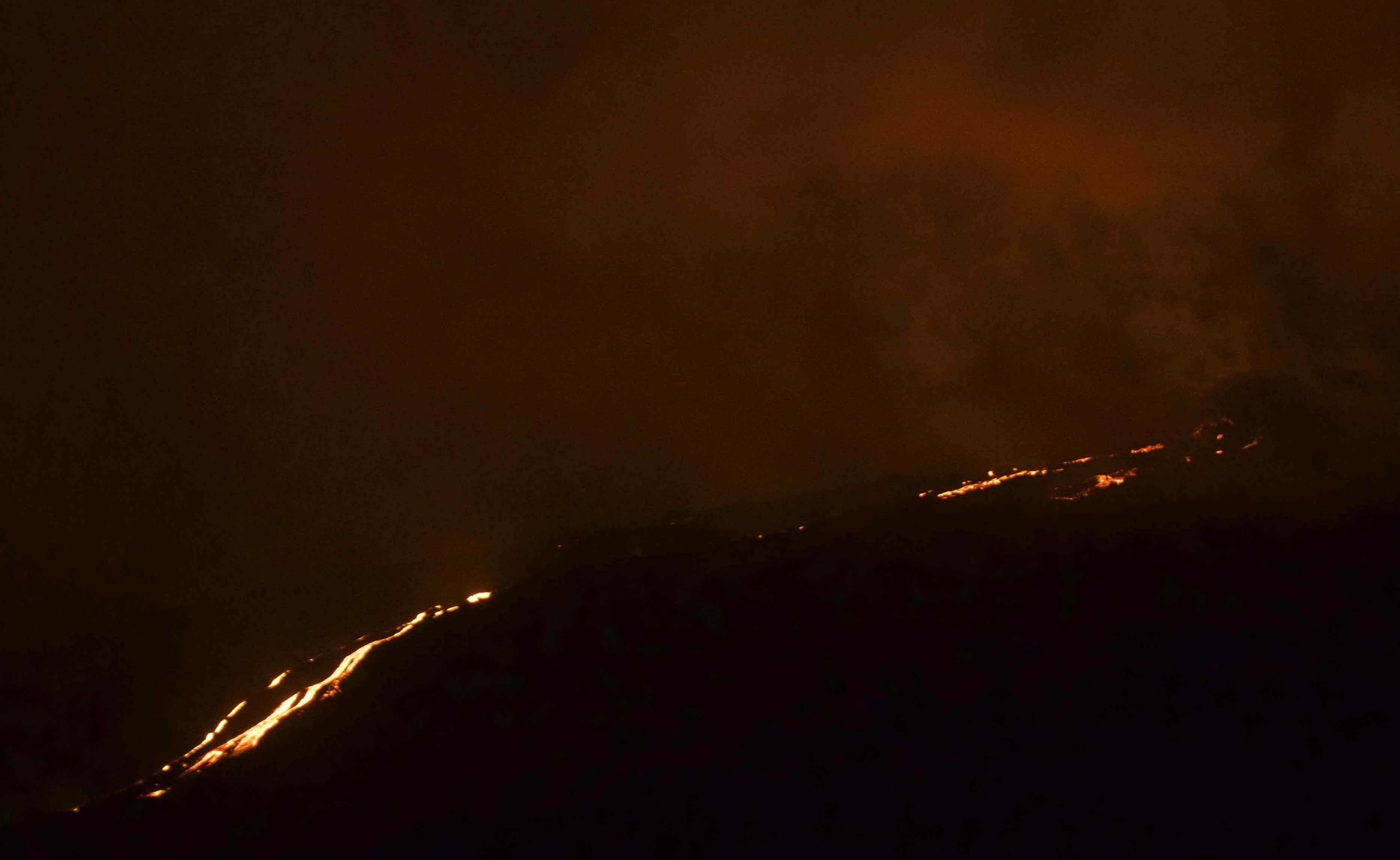 Eruption de la Fournaise août 2019