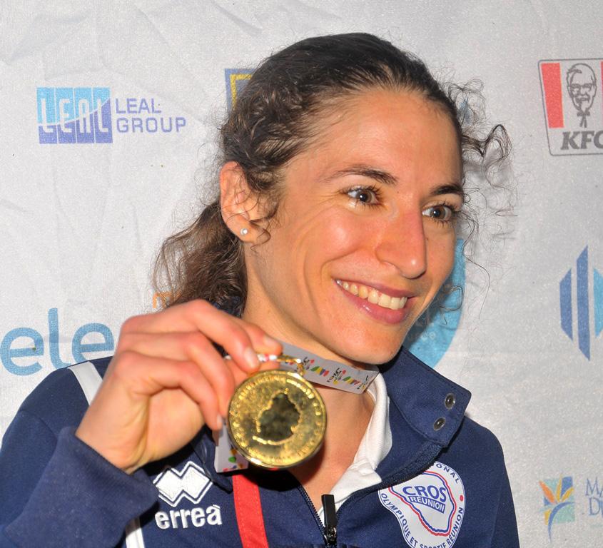 Garance Blaut médaillée d'or. Elle pense déjà à 2023, aux Maldives...