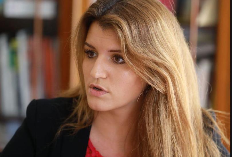 Marlène Schiappa, Secrétaire d'État chargée de l'Égalité entre les femmes et les hommes, au premier plan de ce Grenelle 2019