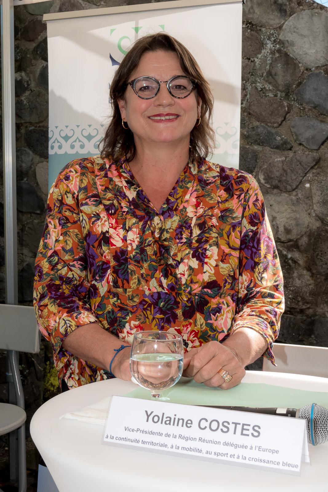 Yolaine Costes, vice-présidente déléguée au sport et à la croissance bleue