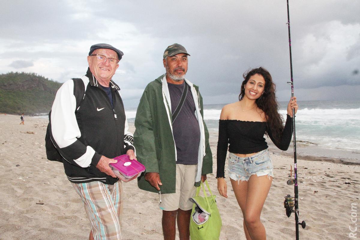 Rencontre avec des pêcheurs à Grand Anse
