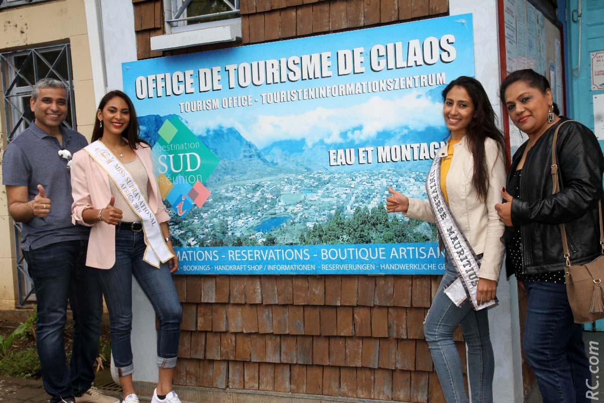 Visite à l'Office de Tourisme de Cilaos