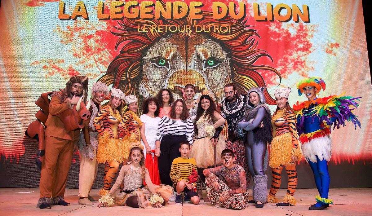 Spectacle du Roi Lion au Petit Stade de l'Est