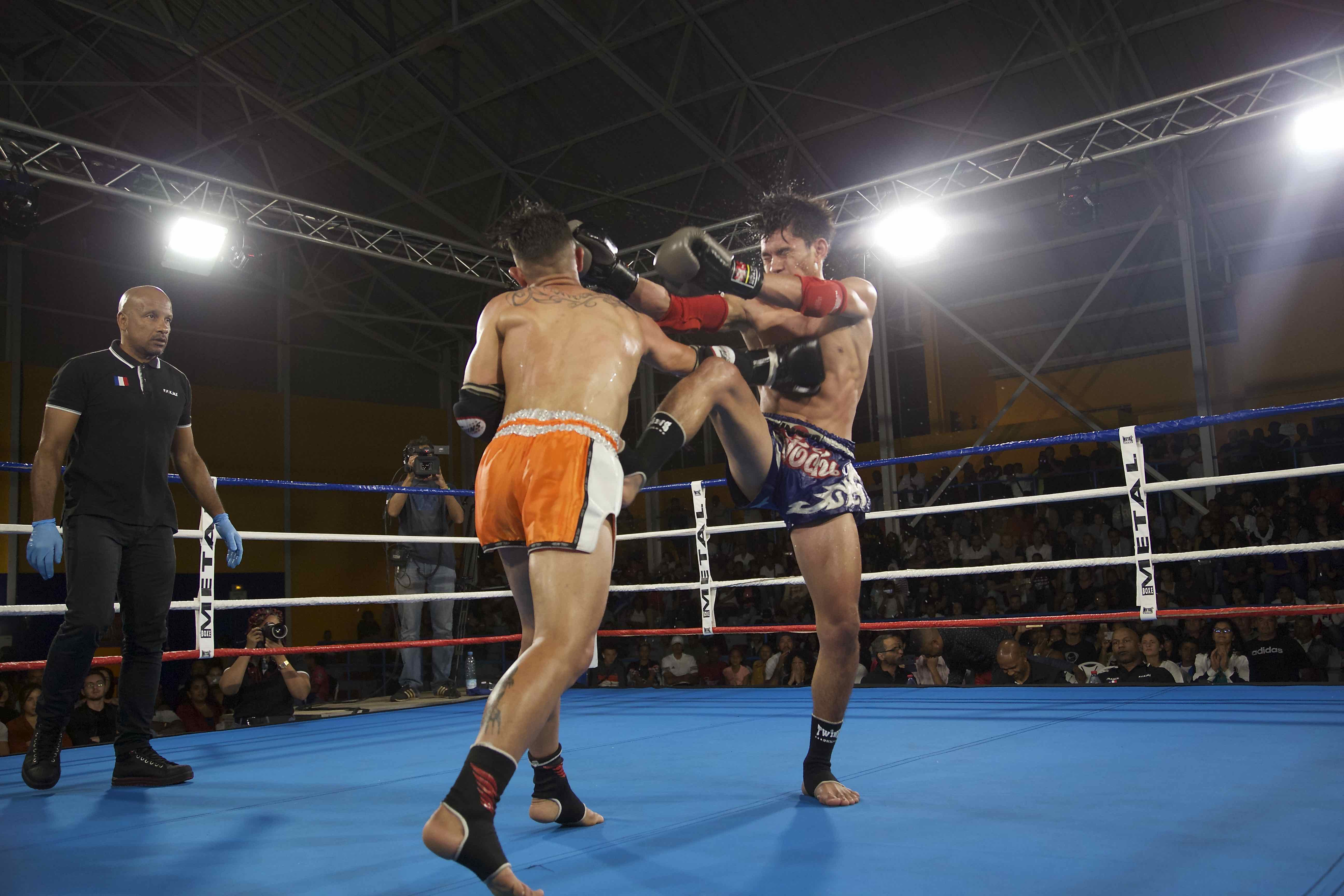 Nuit du Muay Thaï: les Réunionnais plus forts que les Thaïlandais!