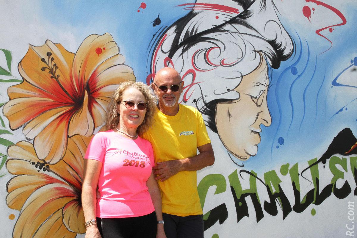 Philippe et Brigitte Fontaine , un couple au service des «gramounes» du Challenge des Seniors