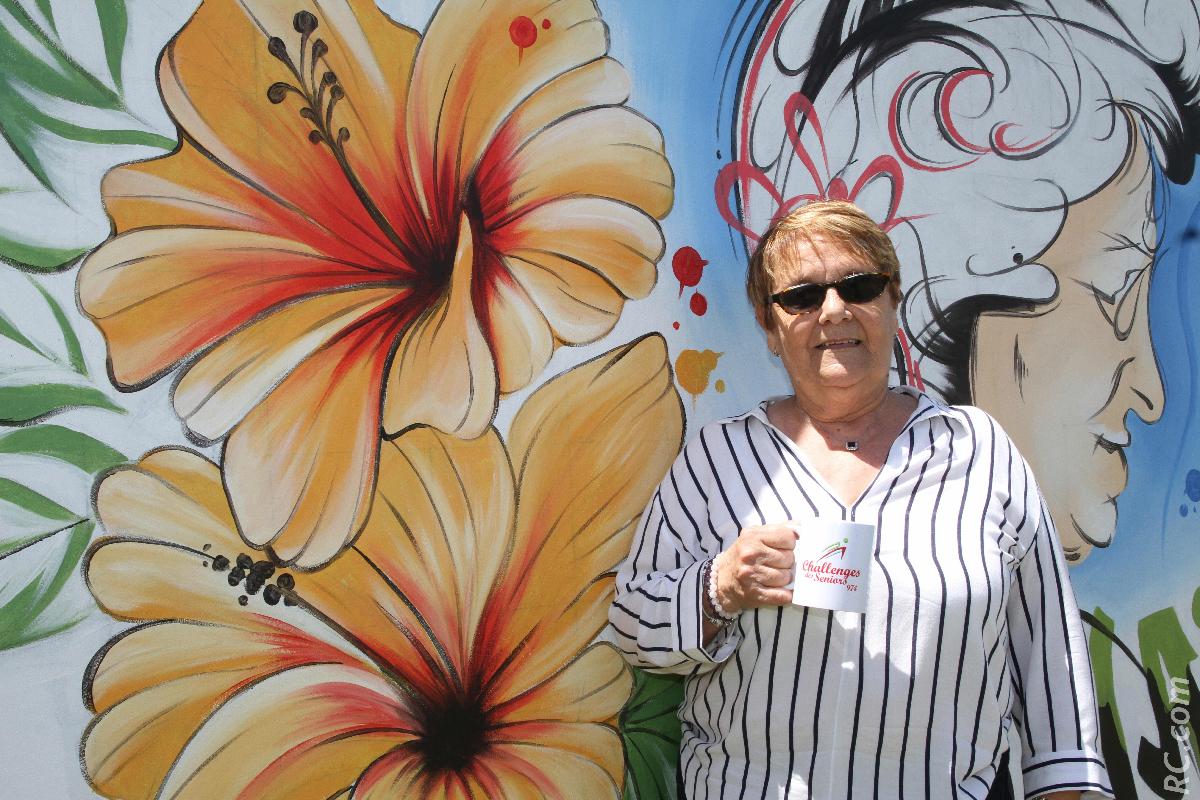 Monique Cathala, présidente du CROS