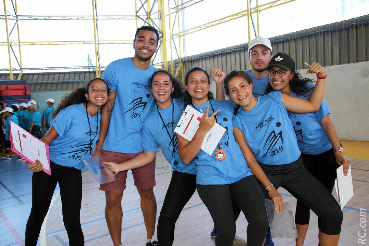 Hyper-actifs, les étudiants du Tampon ont apporté leur précieuse contribution à cette journée