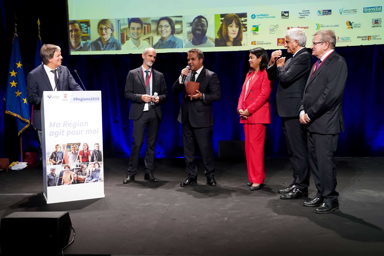 Didier Robert était à Bordeaux pour le Congrès des Régions de France