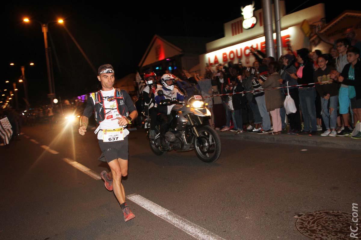Guillaume Gimard ouvrait la course