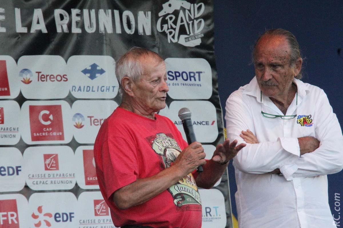 Pionnier de la course de montagne à la Réunion, Roger Fagonde (82 ans) a raconté en quelques mots l'arrivée de cette discipline dans l'île