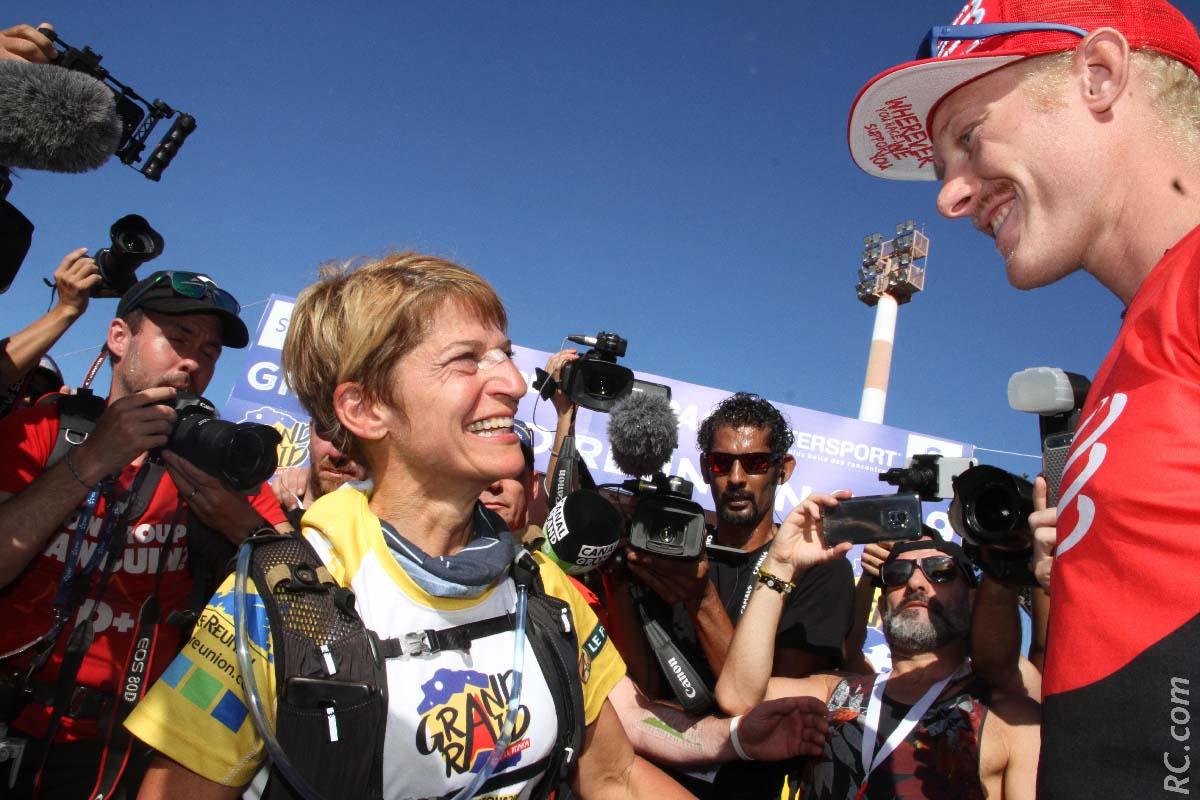 Nathalie Cutrone et Grégoire Curmer, ou quand le premier et la dernière de la course se rencontrent