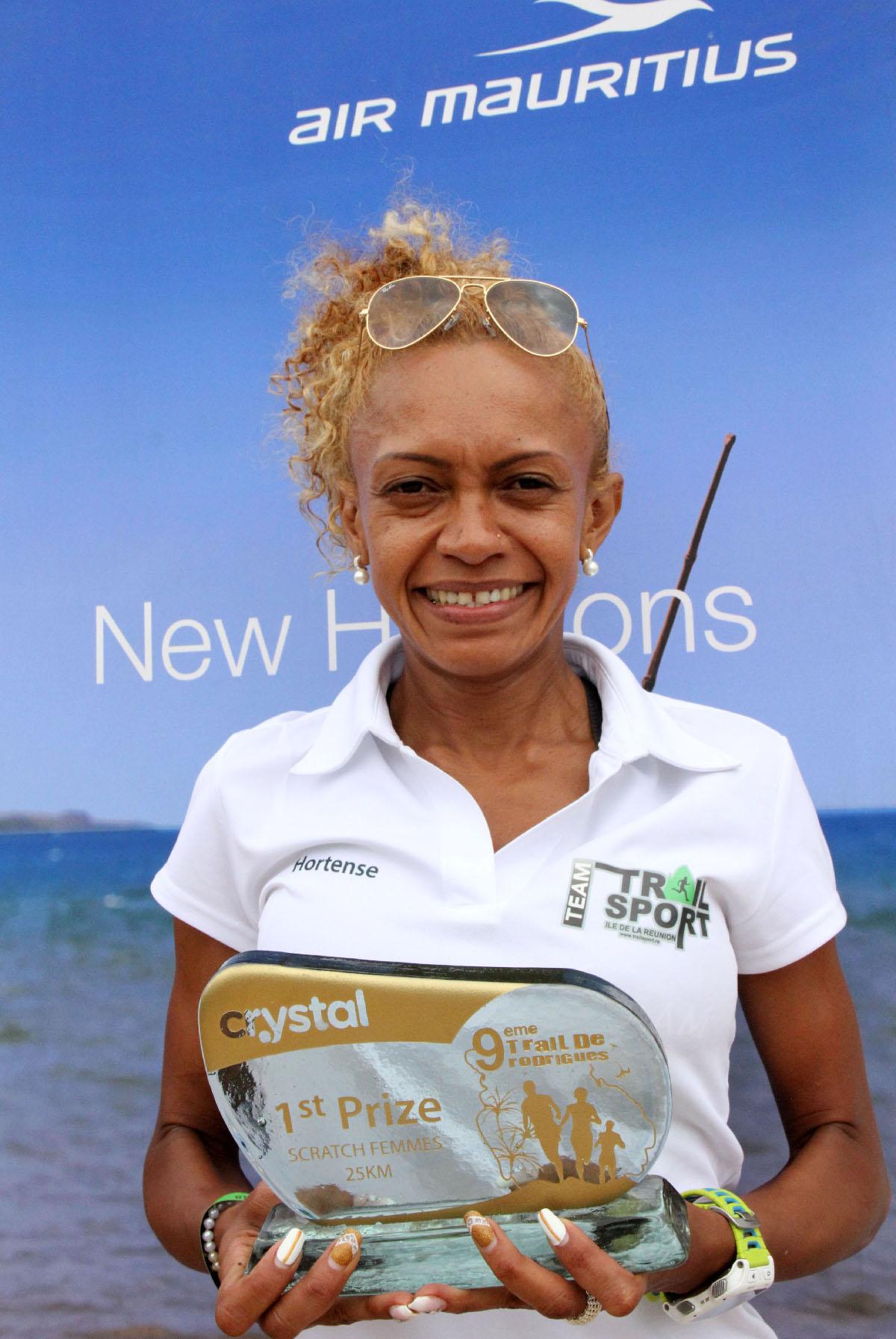 Hortense Bègue: une belle chance de médaille pour La Réunion