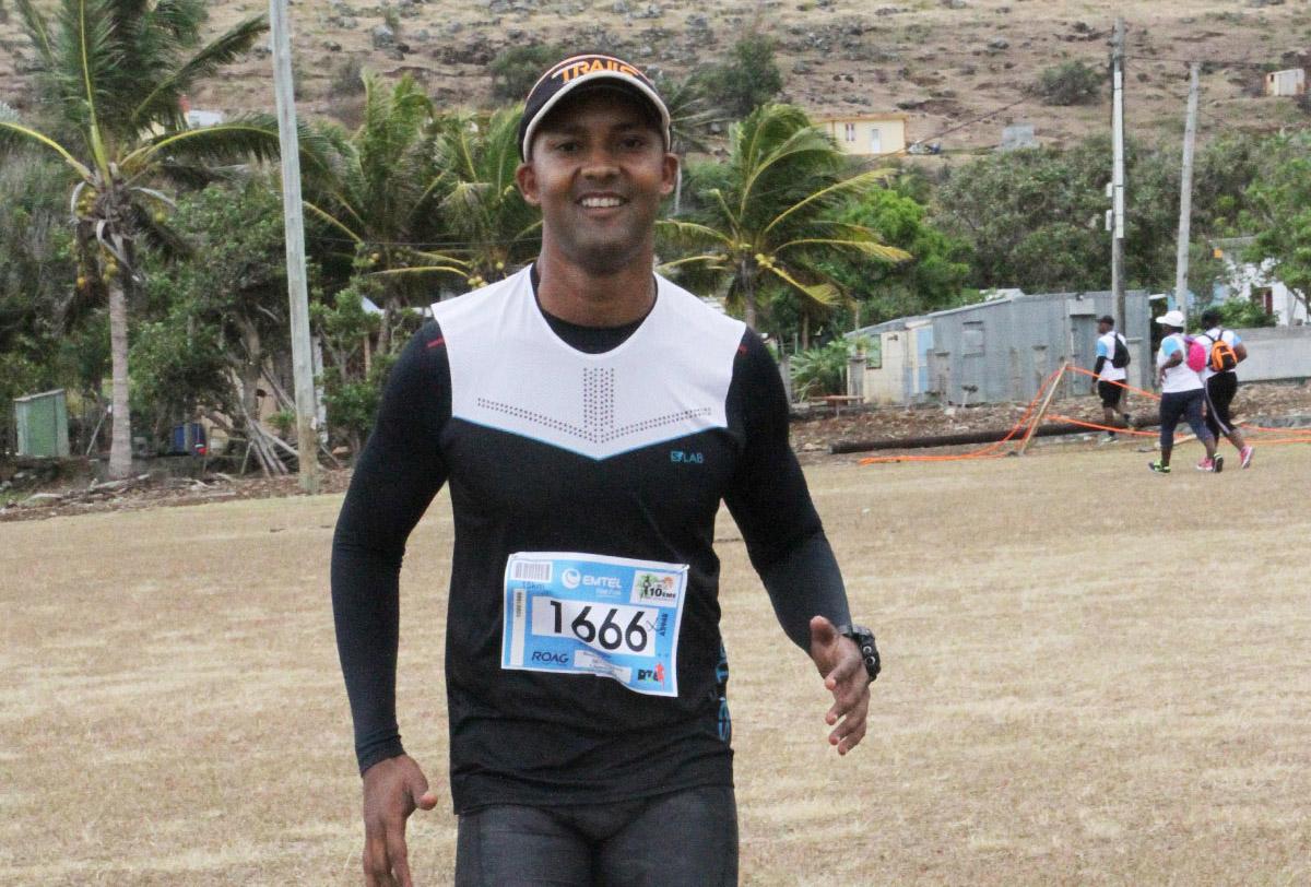 Louis Henrico, l'un des piliers de l'organisation, a couru les 15 km du Gecko