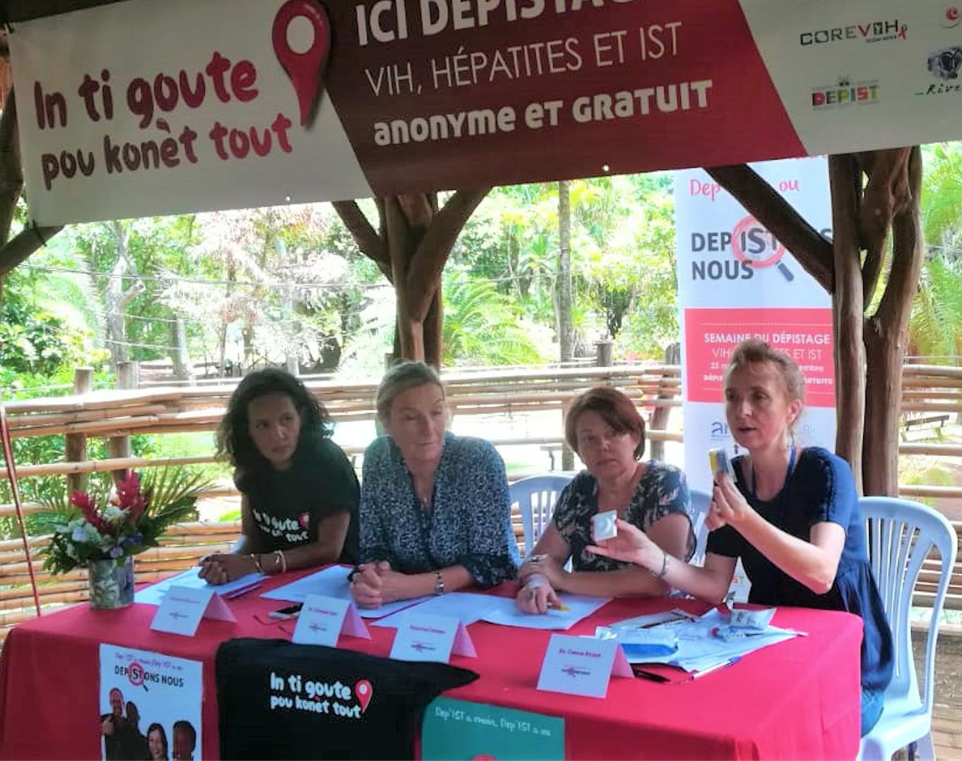 """Semaine du Dépistage VIH, Hépatites et VST: """"Dépistons nous!"""""""