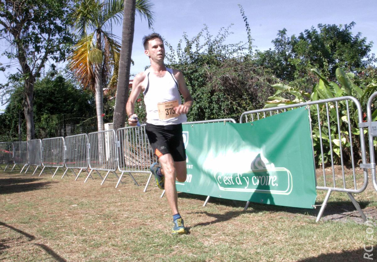 Ghislain Weigel qui a terminé sur les chapeaux de roue en doublant plusieurs concurrents