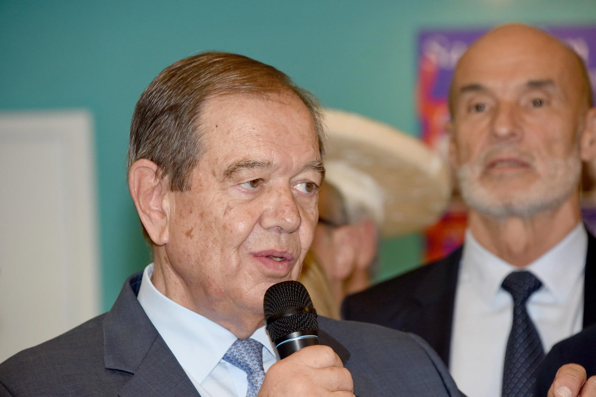 Patrick Ollier, président de la Métropole du Grand Paris