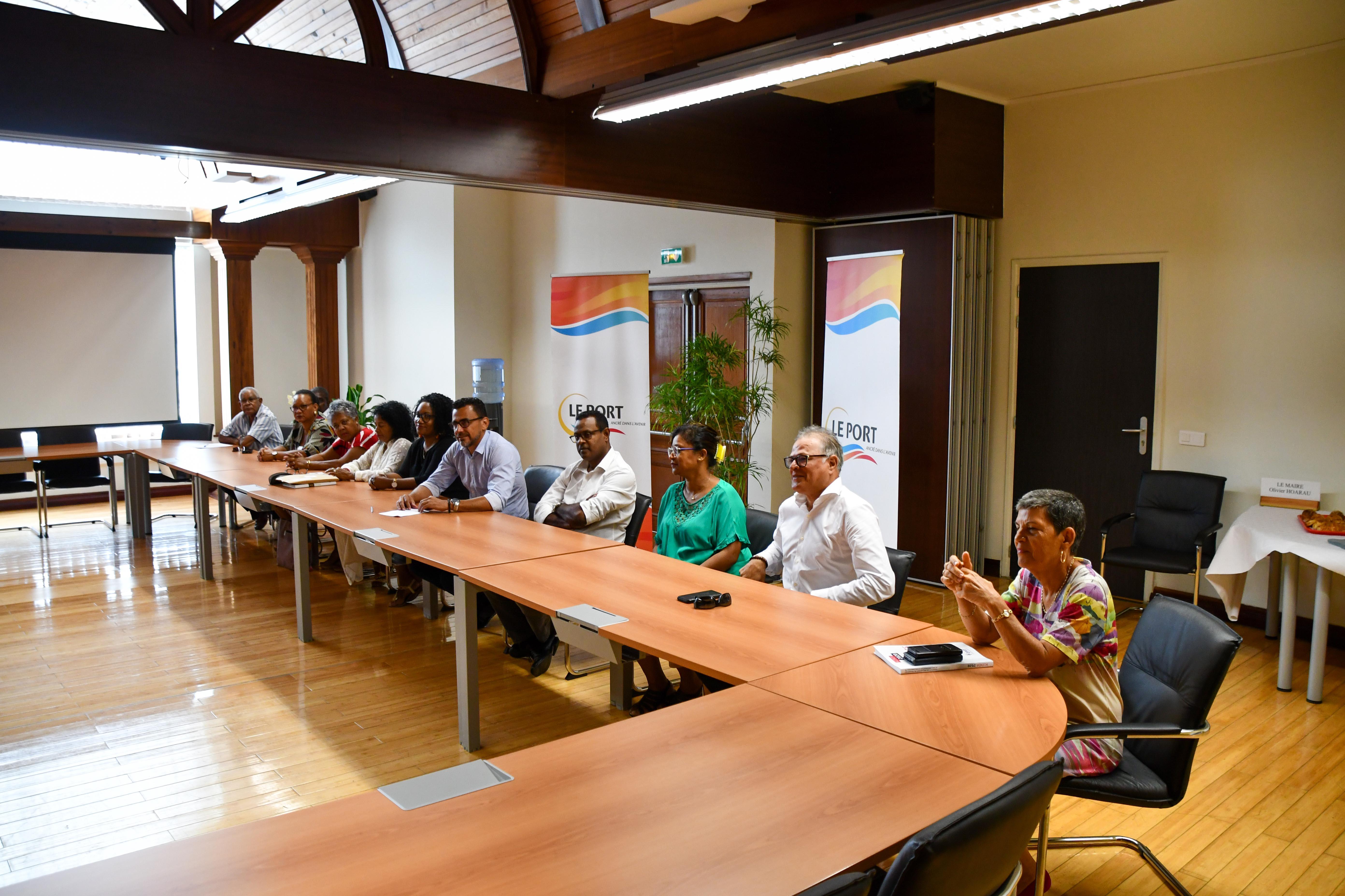 Plusieurs élus portois étaient présents pour ce rendez-vous traditionnel