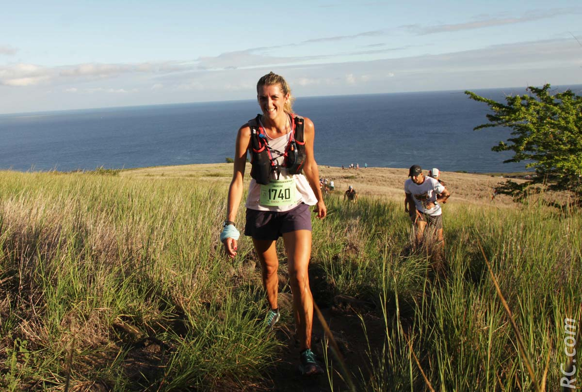 Amandine Dumas, 3ème des 28 km