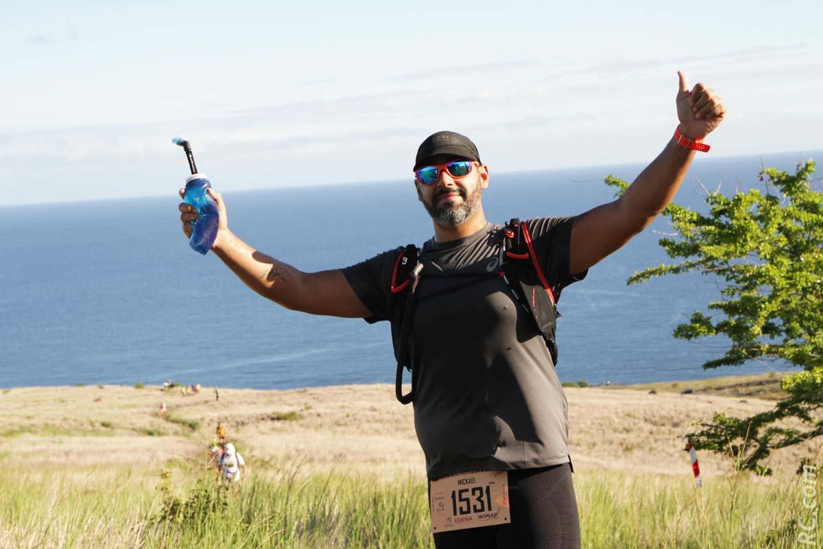 Mickaël Bénard: de la salle de fitness au trail...