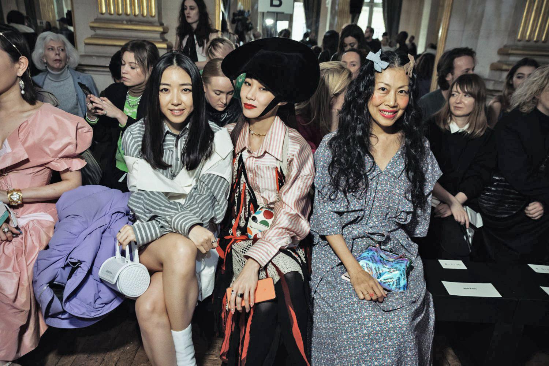 Mademoiselle Yulia et Yuwei Zhangzou