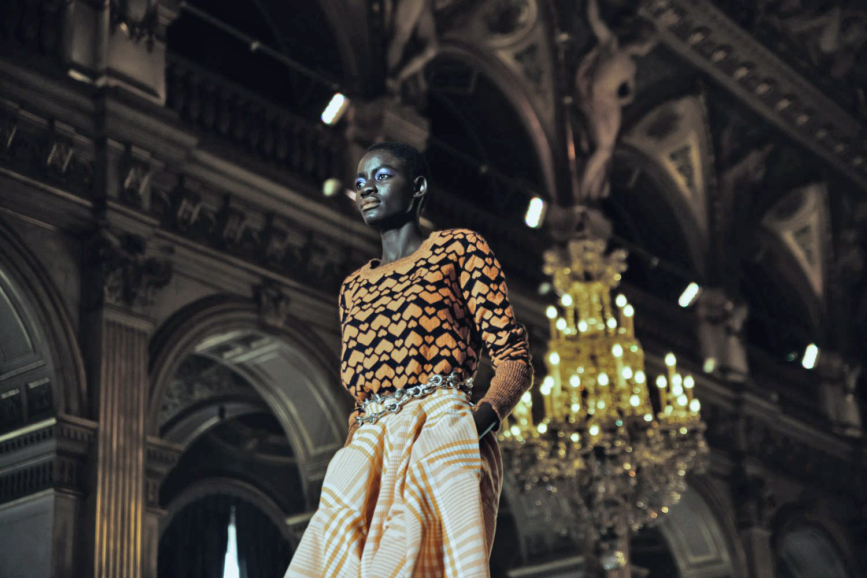 Fashion Week: Bella Hadid a défilé pour Vivienne Westwood