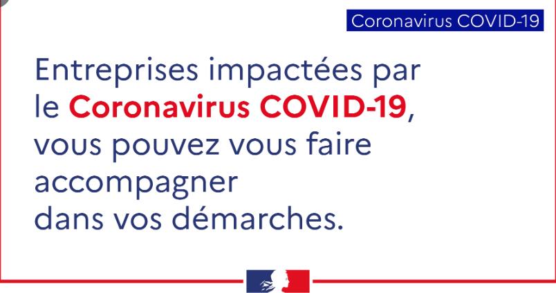 Covid-19: mesures de soutien aux entreprises