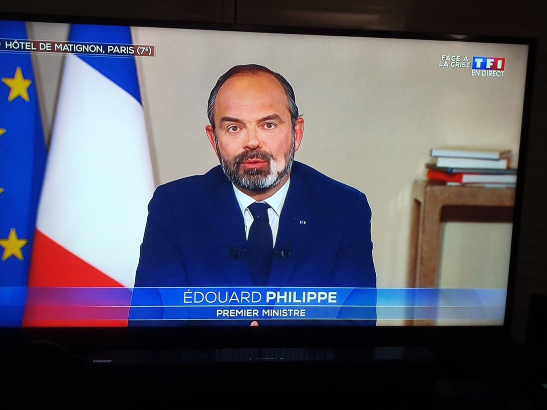 Edouard Philippe était en direct pendant près d'une heure