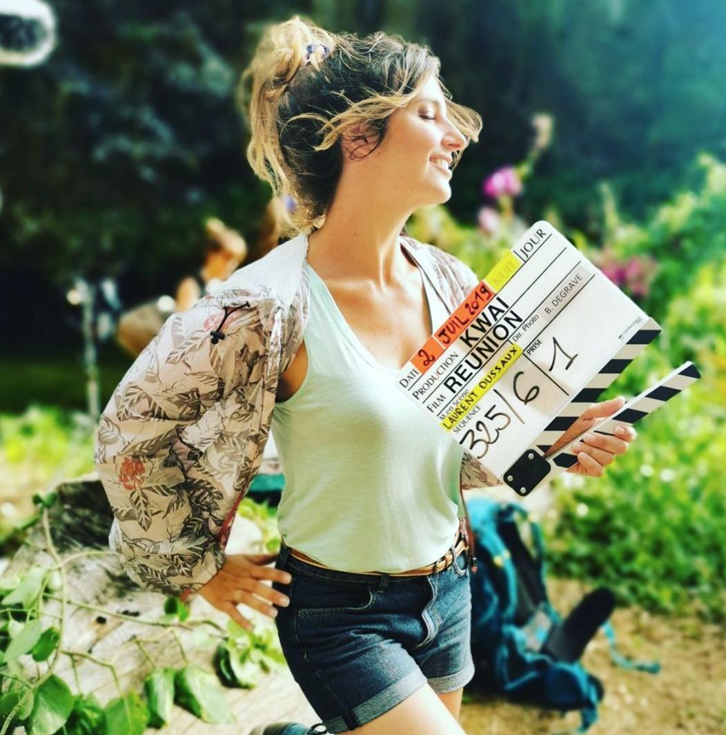 La belle Laëtitia Milot avait publié cette photo sur son compte Instagram lors du tournage en 2019