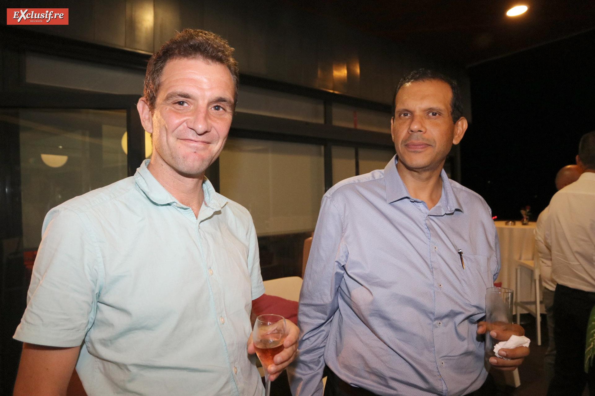 Boris Peignot, consultant Isodom, et David Carpaye, directeur d'exploitation RVE