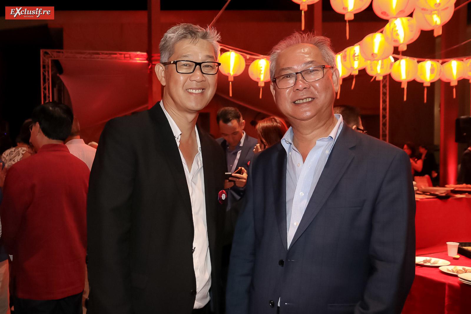 Michel You-Seen, et Jean-Paul Huo