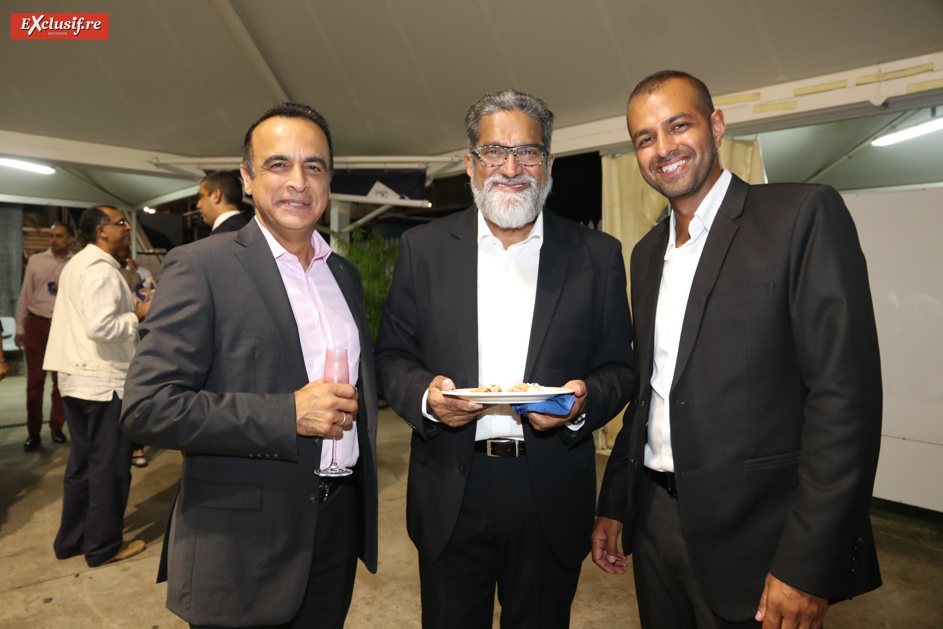 Ali Esmaël, Osman Ravate, et son fils Youcha