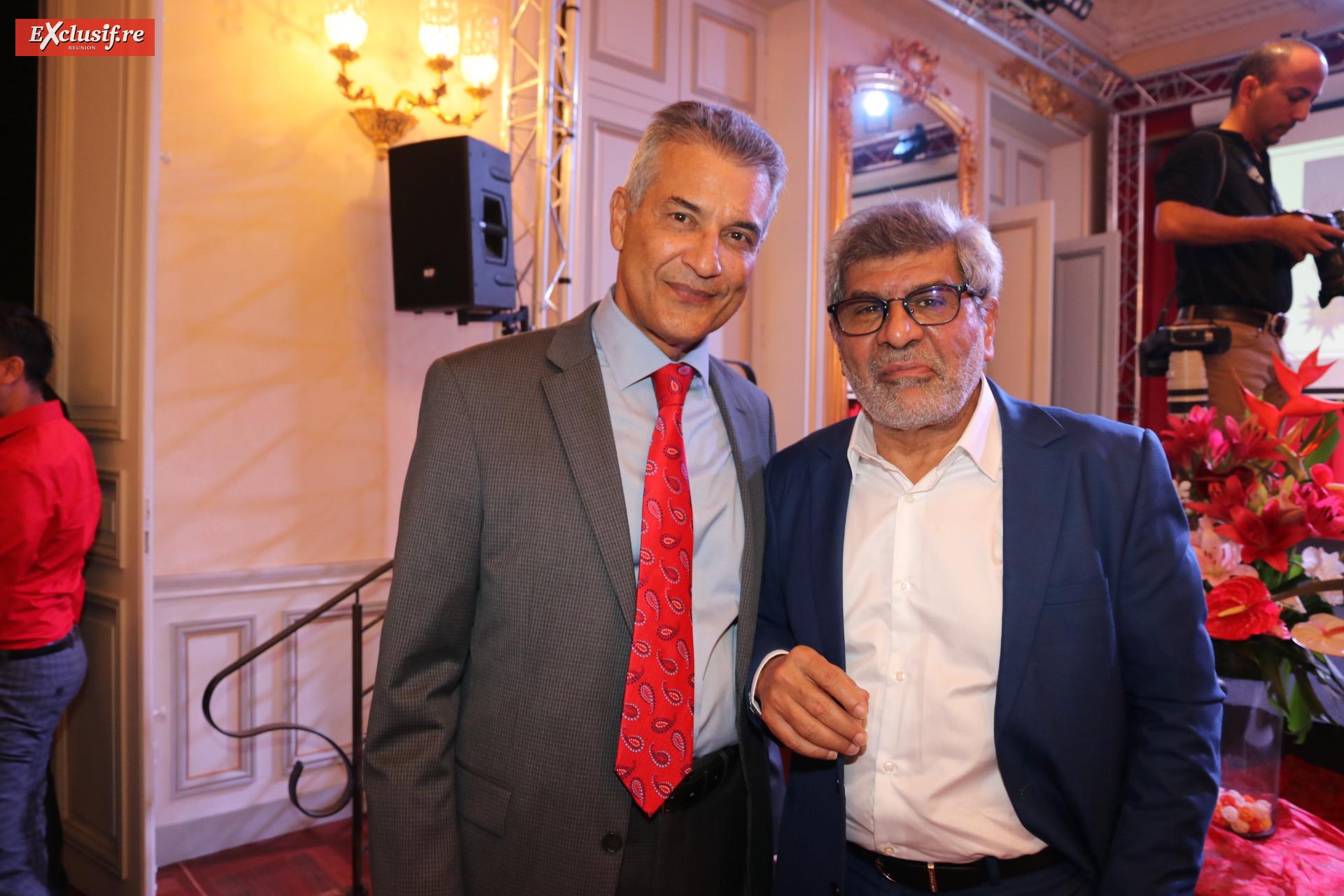 Ibrahim Dindar, président du CNARM, et Adam Ravate, président du groupe Ravate