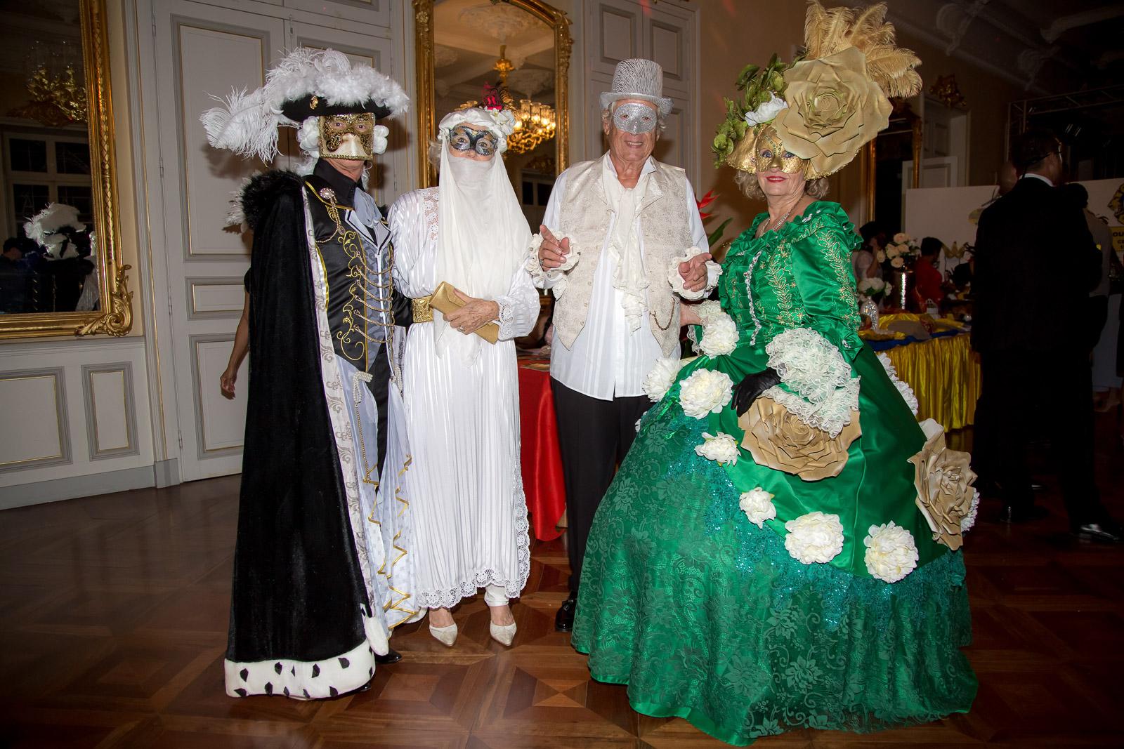 Bal masqué à l'Ancien Hôtel de Ville de Saint-Denis