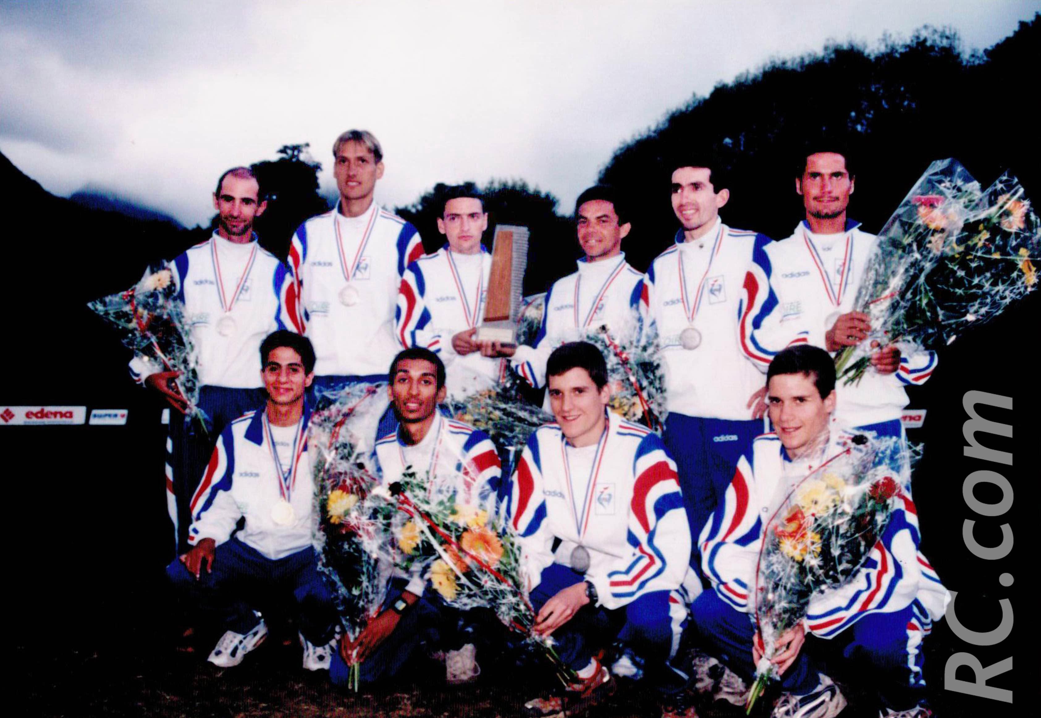 L'équipe de France de course de montagne