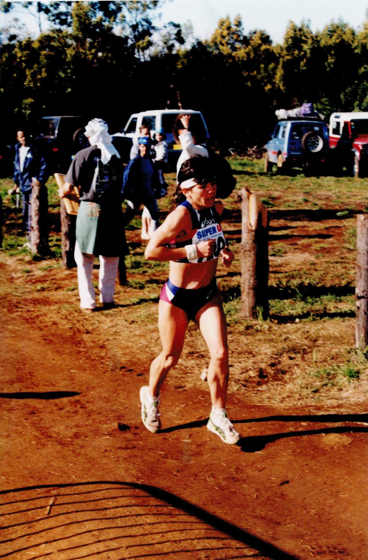 Olivette Hoareau représentait l'Entre-Deux dans la course Open