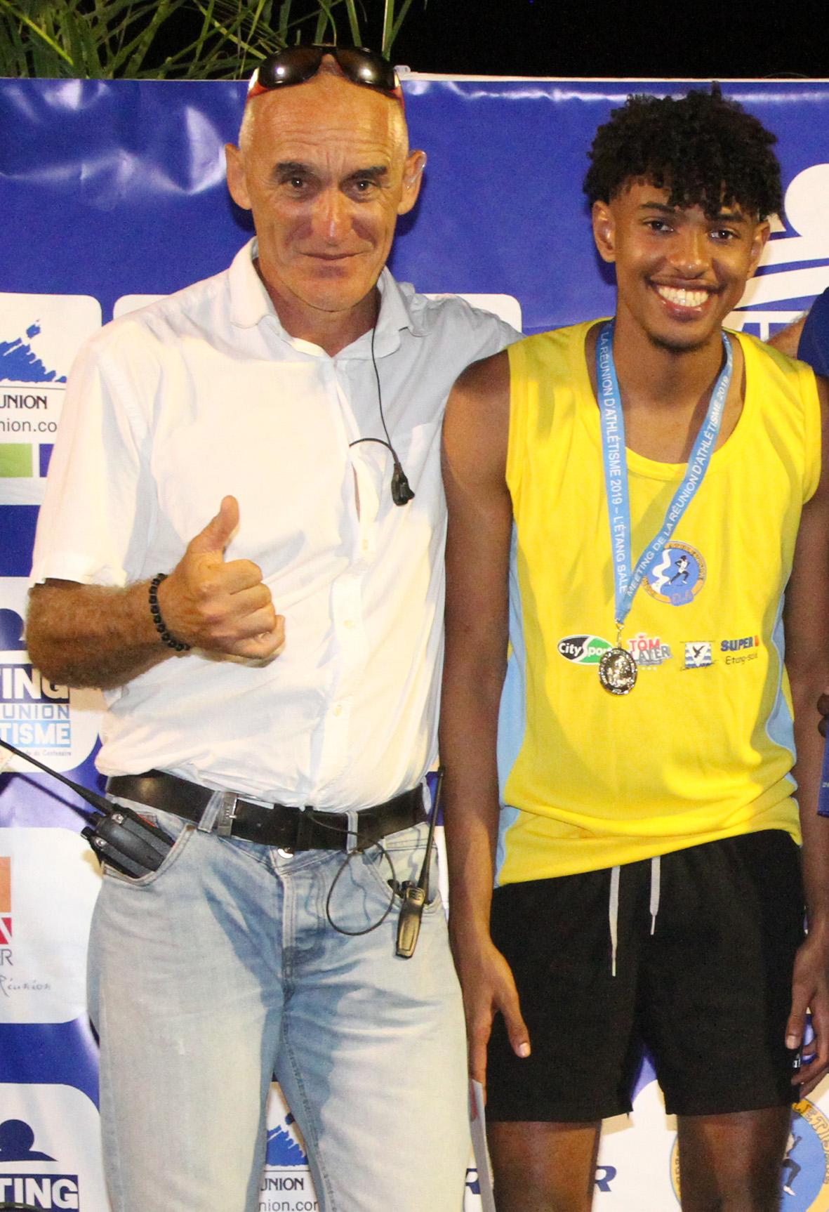 Jean-Marc Hardy ici avec Fabrisio Saïdy