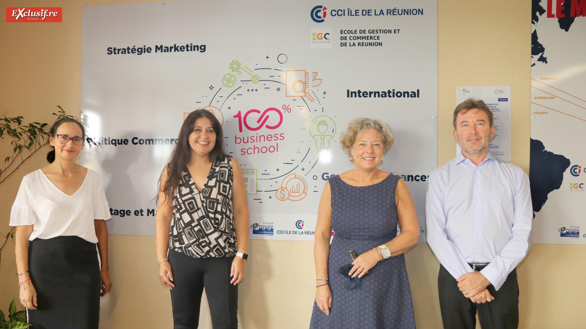 100 étudiants de l'EGC au service des petites entreprises